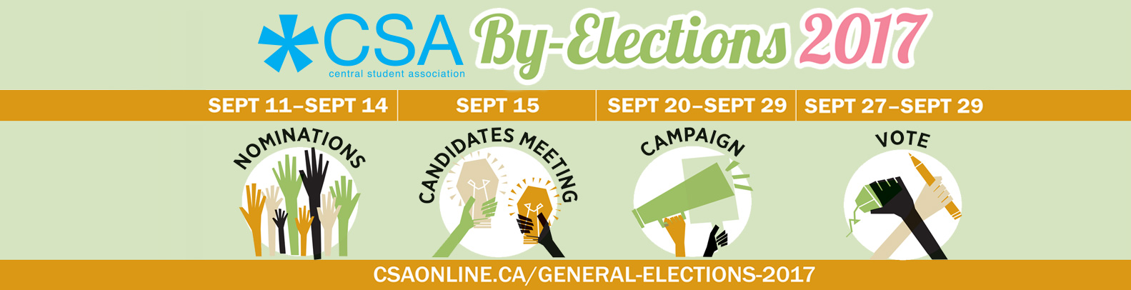 CSA Fall 2017 By-Elections