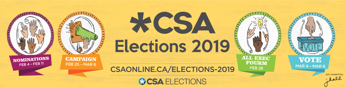 CSA 2019 Elections On Now